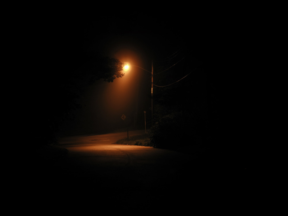 Single Street Light At Night | www.pixshark.com - Images ...