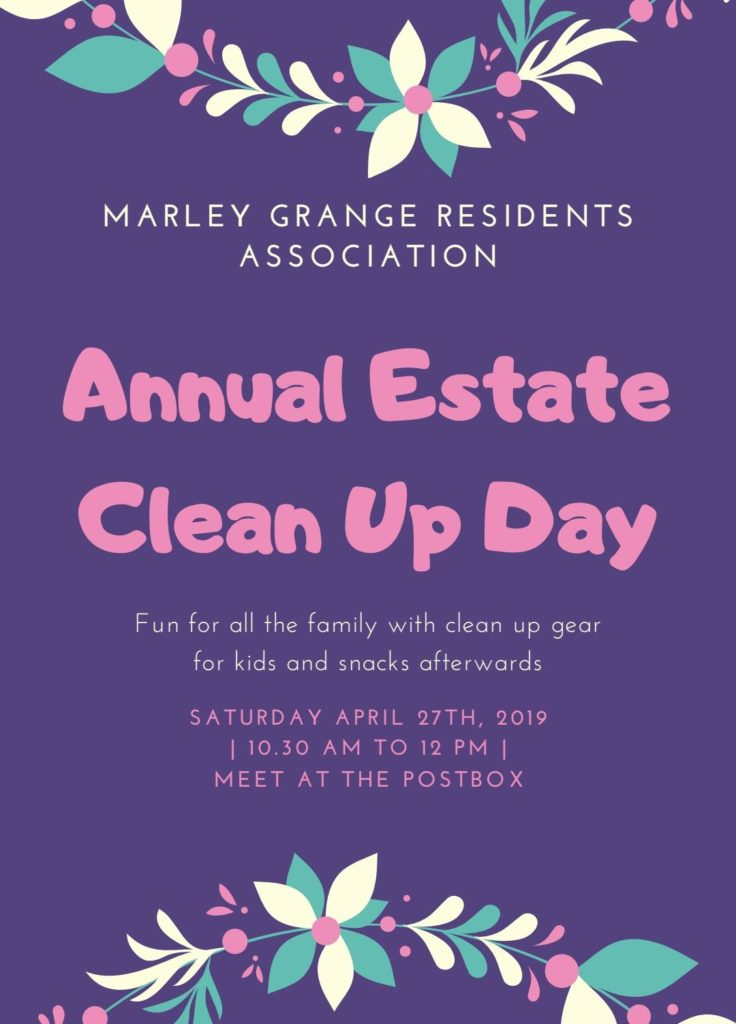 Annual Estate Clean-up 2019
